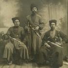 Foto uit de Eerste Wereldoorlog van Koebankozakken
