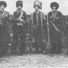 Koebankozakken, eind 19e eeuw