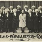 Het 'Ural Kosaken Chor' in 1930